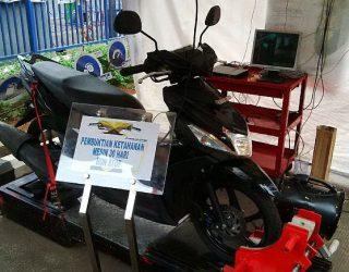 Acara Uji Ketangguhan Yamaha Mio M3 di 10 Kampus