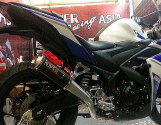 Aksesories spesial Yamaha R25 dan Ninja 250 FI Laris manis