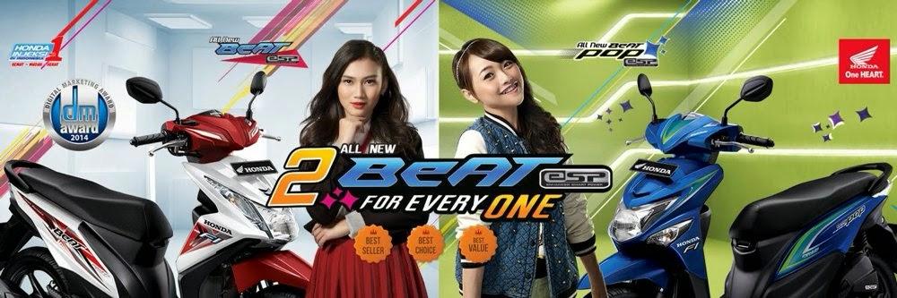 Alasan  harga Motor Honda All new  Beat eSP dan POP eSP berbeda