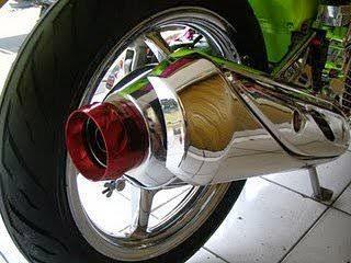 Beberapa penyebab suara nembak pada knalpot motor
