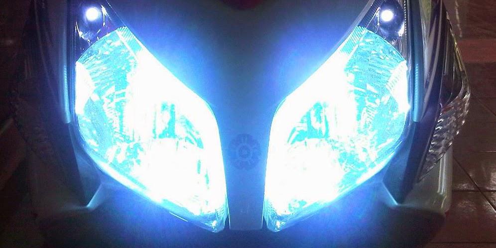 Cara agar lampu motor lebih terang tidak redup