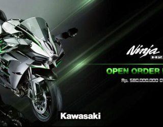 Harga Kawasaki H2 Resmi dirilis tampil perdana januari 2015
