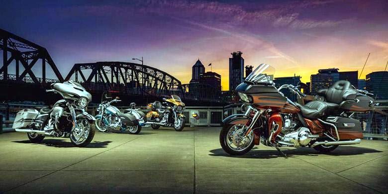 Jajaran Motor Harley Davidson Modifikasi Pabrikan 2015 3