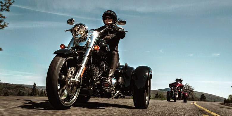 Motor Model Roda Tiga Terbaru Milik Harley-Davidson