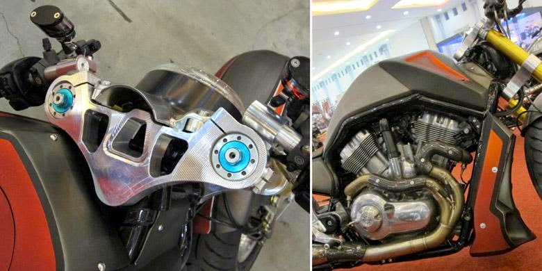 Pemenang Kustomfest 2014 modifikasi Harley-Davidson 2