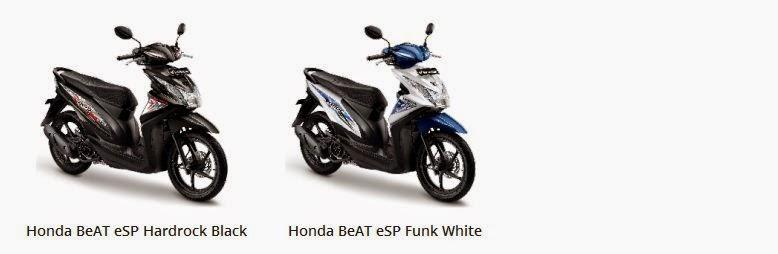 Pilihan warna  All new  Beat eSP dan POP eSP 2
