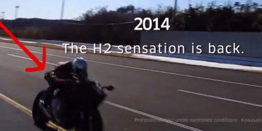 Video penampakan wujud Kawasaki Ninja H2
