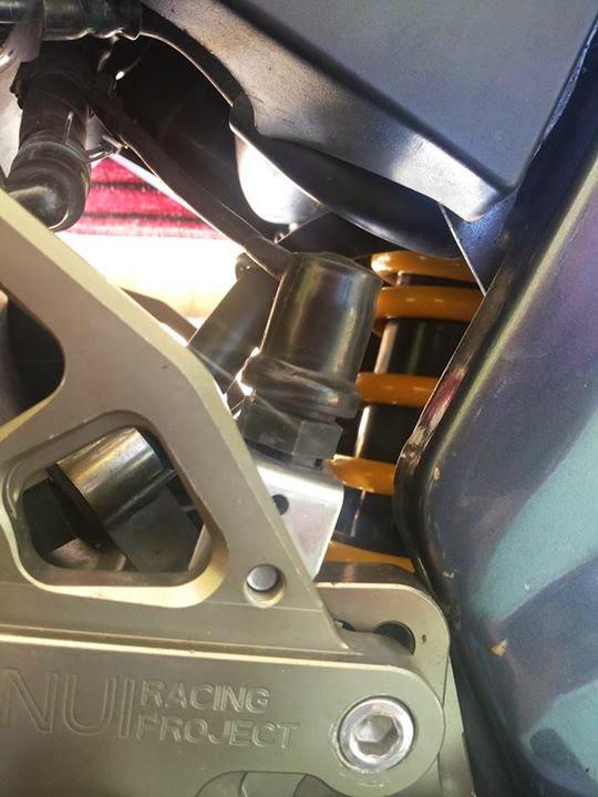 new vixion pake underbone nui monster 5