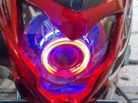 Ganti dengan Cover Headlamp Custom jagad modification