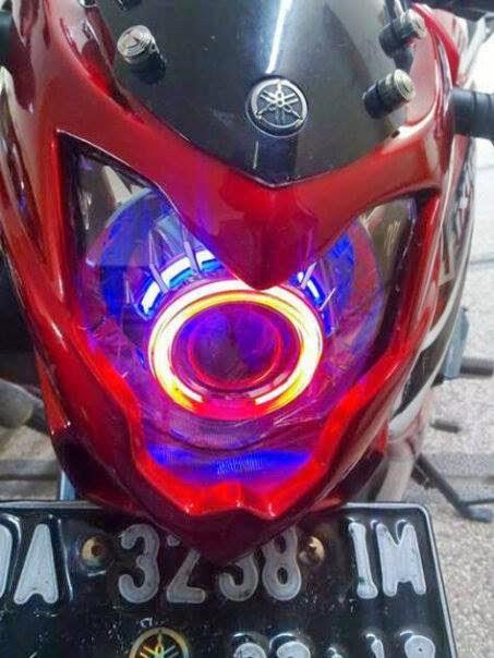 Ganti dengan Cover Headlamp Custom jagad modification