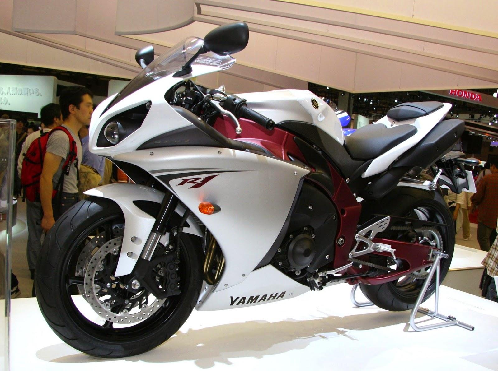 Harga Foto dan Spesifikasi Yamaha YZF R1 2014