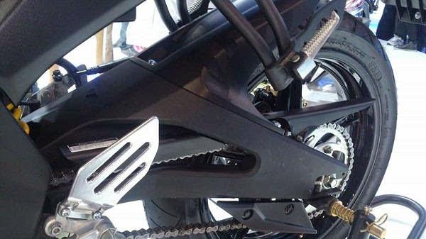 Harga dan Galeri Foto Modif Swing Arm R15 di new vixion  3