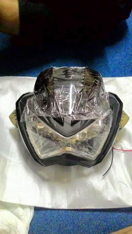 Headlamp new vixion model z250 2