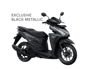 Honda Vario 150 ESP Exclusive Black Metallic