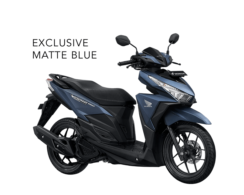 Honda Vario 150 ESP Exclusive Matte Blue