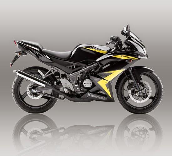 Kawasaki Ninja RR Kuning