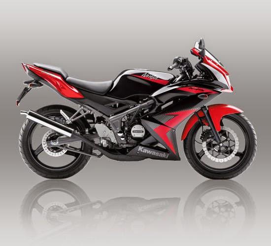 Kawasaki Ninja RR Merah