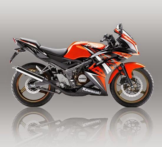 Kawasaki Ninja RR SE Orange