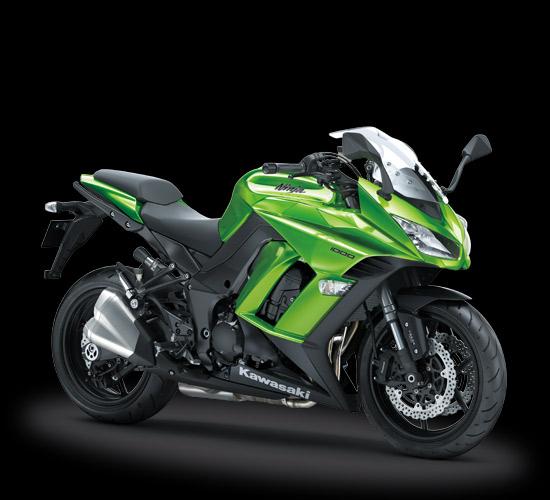 Kawasaki ninja 100 warna baru hijau