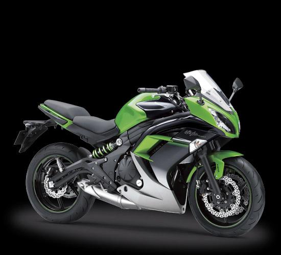 Pilihan warna dan Striping Kawasaki Ninja 650 ABS Hijau Hitam
