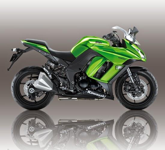 kawasaki ninja 1000 hijau