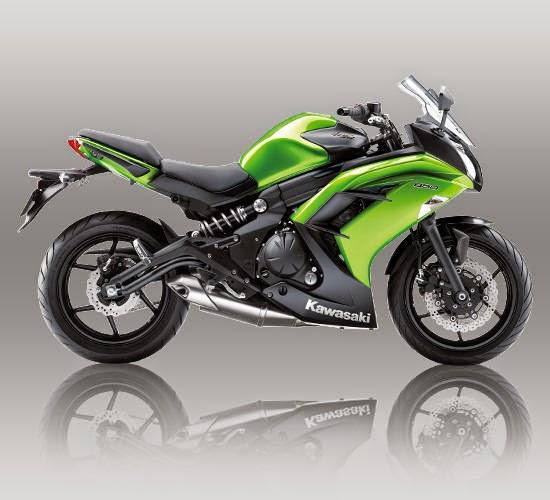 kawasaki ninja 650 hijau