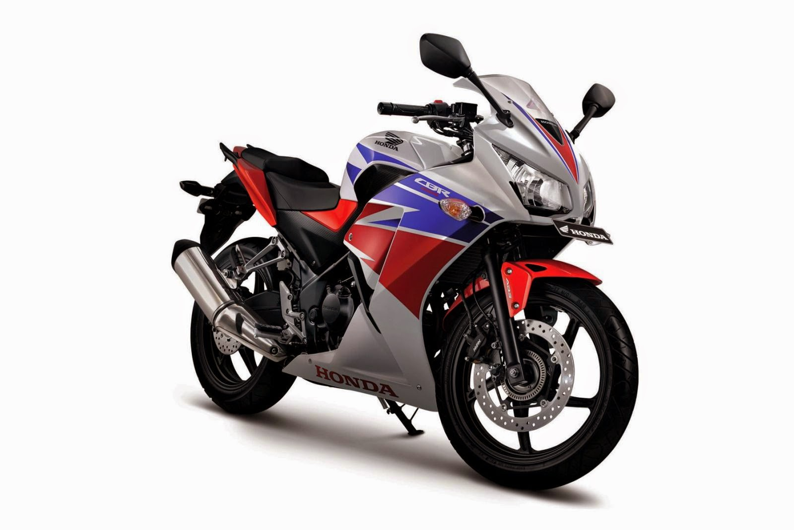 All New Honda CBR250R Three COlors