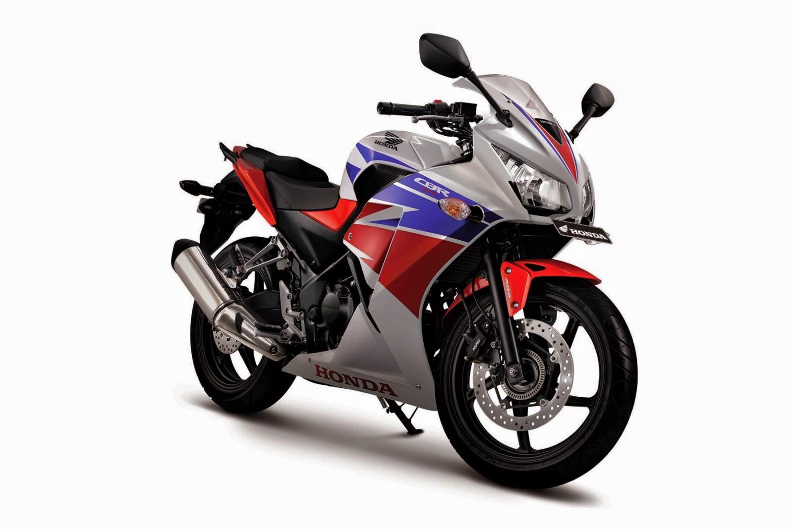 All New Honda CBR250R Three COlors