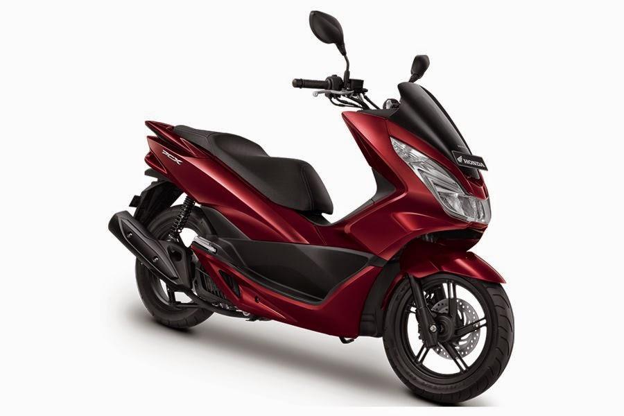 All New Honda PCX150 Luxury Red