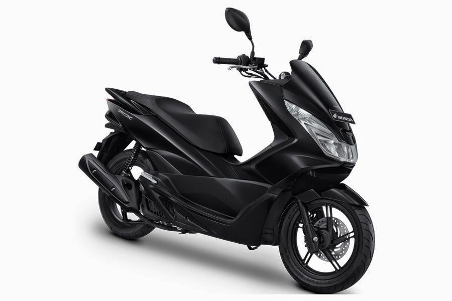 All New Honda PCX150 Prestige Black