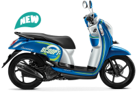 All New Honda Scoopy ESP Sporty Urban Blue Biru