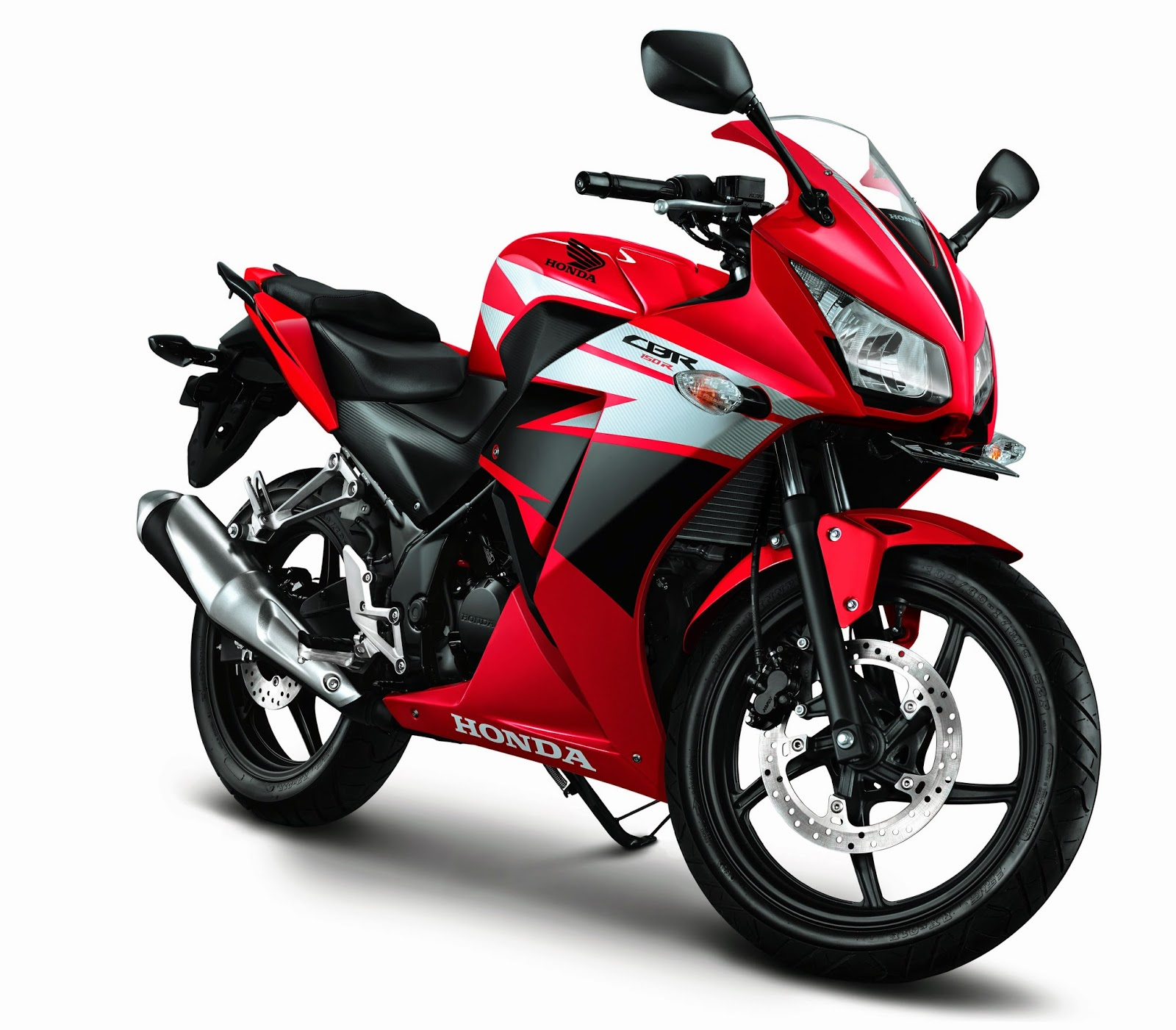 All new Honda CBR150R Champion Red