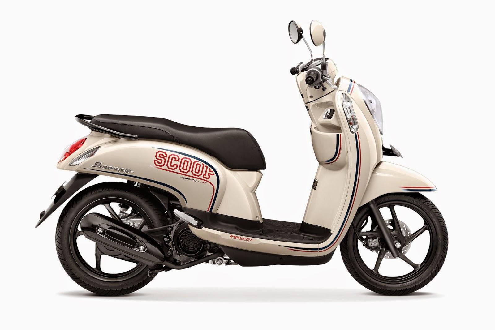 Harga Foto dan Spesifikasi New Honda Scoopy 2014