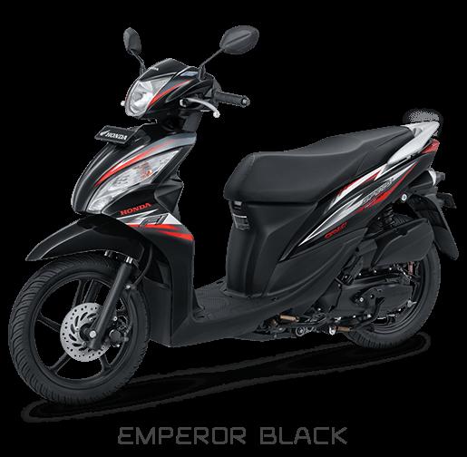Honda Spacy 2018 Hitam