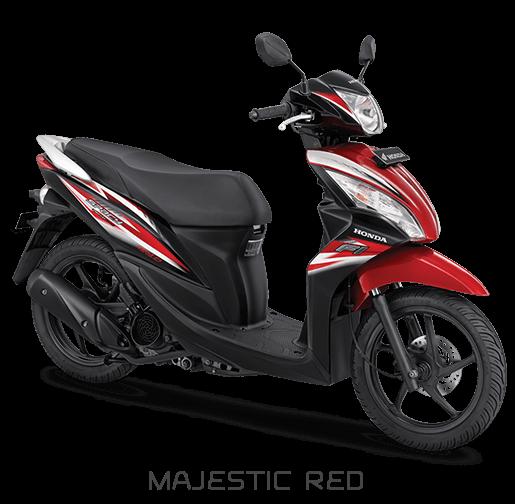 Honda Spacy 2018 Merah