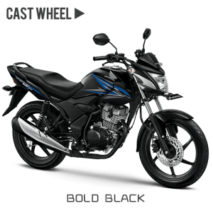 Honda verza 150 CW Bold Black Hitam