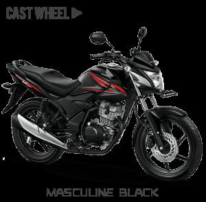 Honda verza 150 CW Masculine Black Hitam