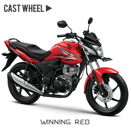 Honda verza 150 CW Winning red merah
