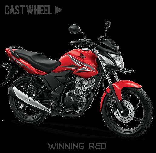 Honda verza 150 CW Winning red merah