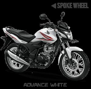 Honda verza 150 Jari-jari Advance White Putih