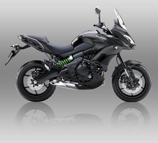 Kawasaki Versys 650 Gray