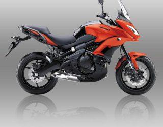 Kawasaki Versys 650 Orange