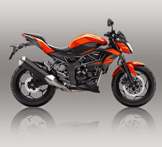 Kawasaki Z250SL Orange