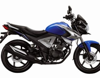 New Honda MegaPro FI Brace Blue