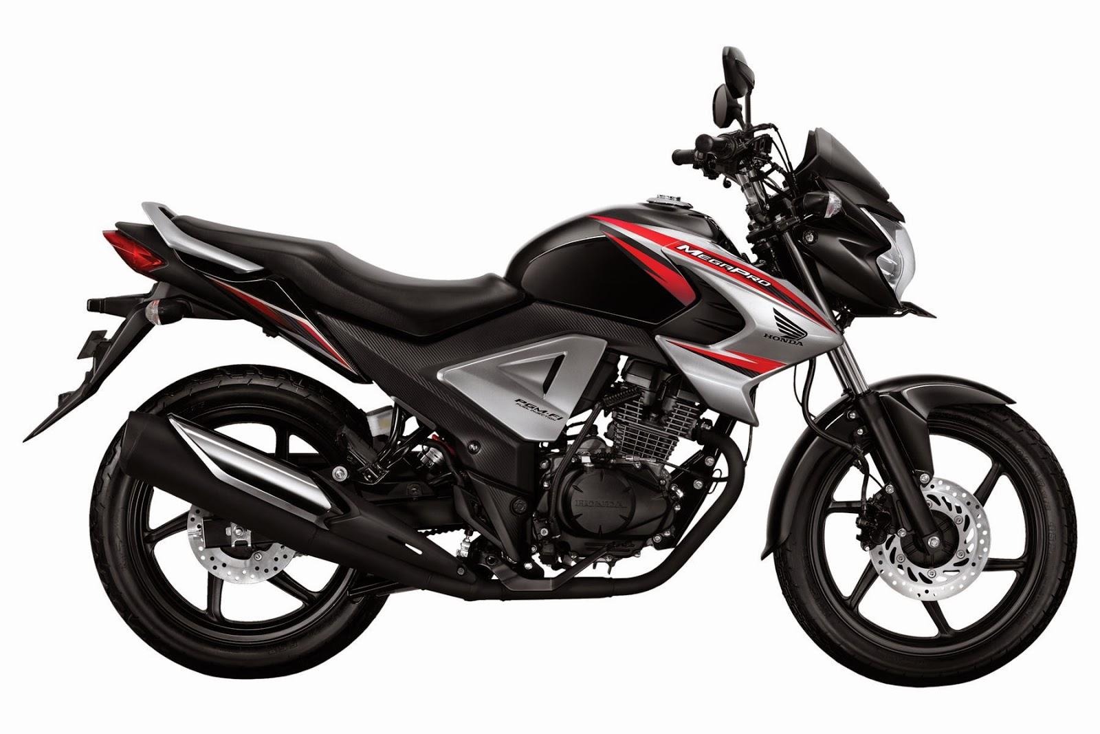 New Honda MegaPro FI Brave Black