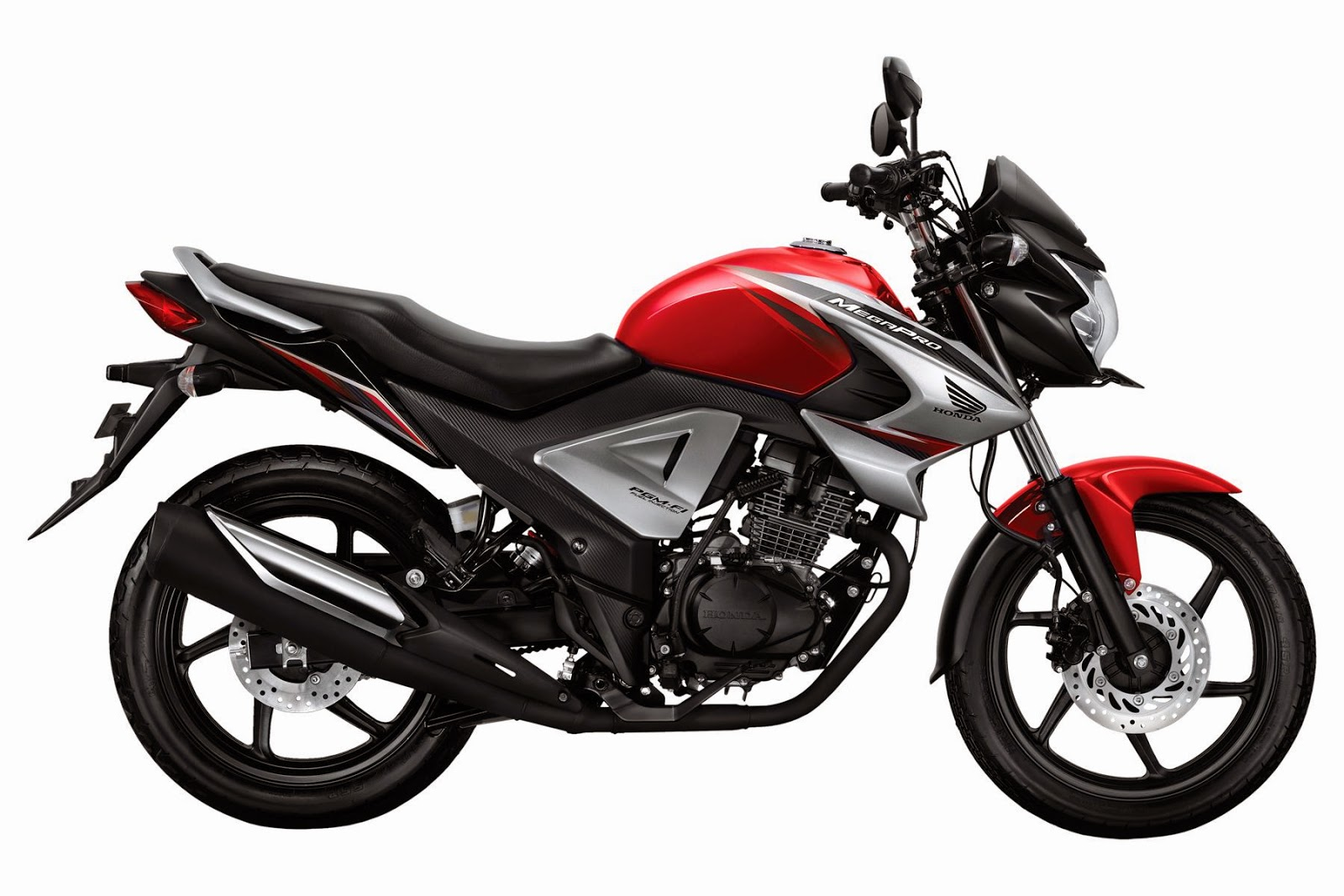 New Honda MegaPro FI renegade Red