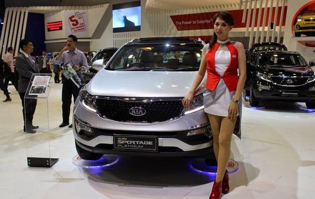 Penyegaran Mobil KIA 2015
