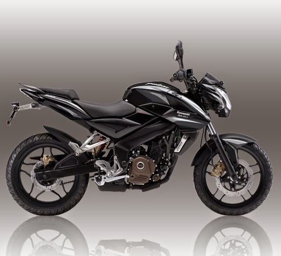Spesifikasi Kawasaki-Bajaj Pulsar 200NS Hitam