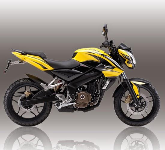 Spesifikasi Kawasaki-Bajaj Pulsar 200NS Kuning