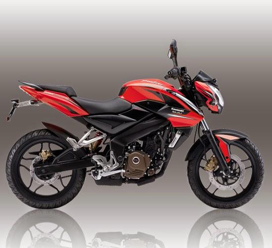 Spesifikasi Kawasaki-Bajaj Pulsar 200NS Merah